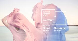 Pantone 2016: Rose Quartz & Serenity