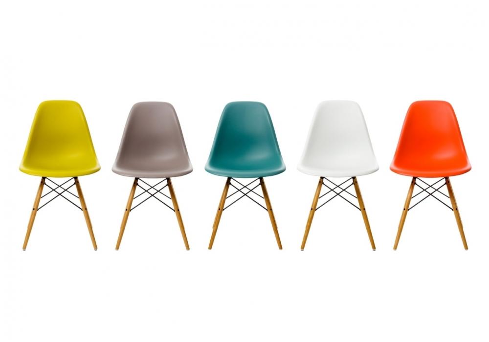 Una sedia per il tuo ufficio a casa: la DSW di Vitra