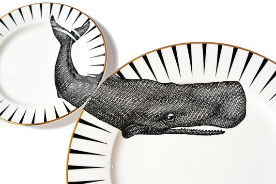 plate-set-animal-wilde-whale-balena-piatti-selvaggio-design