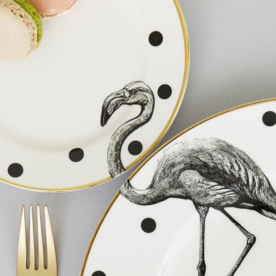 plate-set-animal-wilde-whale-balena-piatti-selvaggio-design-flamingo-fenicottero