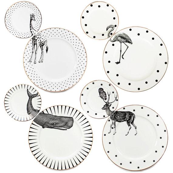 plate-set-animal-wilde-piatti-selvaggio-design-giraffe-giraffa-whale-balena-stag-cervo-giraffe-giraffa