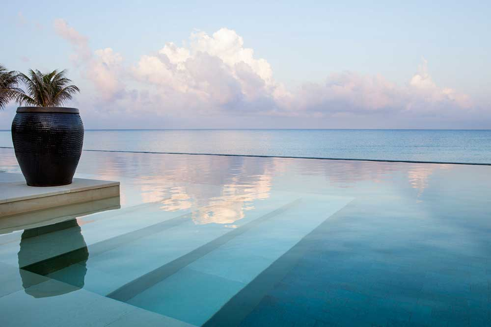top ten swimming pool by Camilla Bellini in the blog the diary of a designer. nandana bahamas