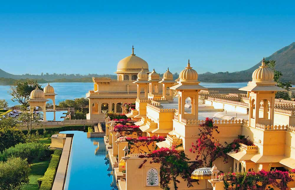 top ten swimming pool by Camilla Bellini in the blog the diary of a designer. oberoi udaivillas