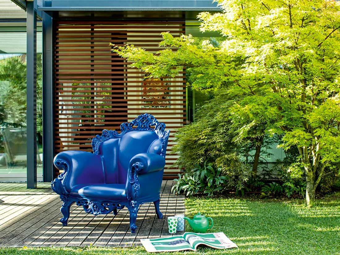 The Proust Armchair: Stylish and Ironic by designer Alessandro Mendini