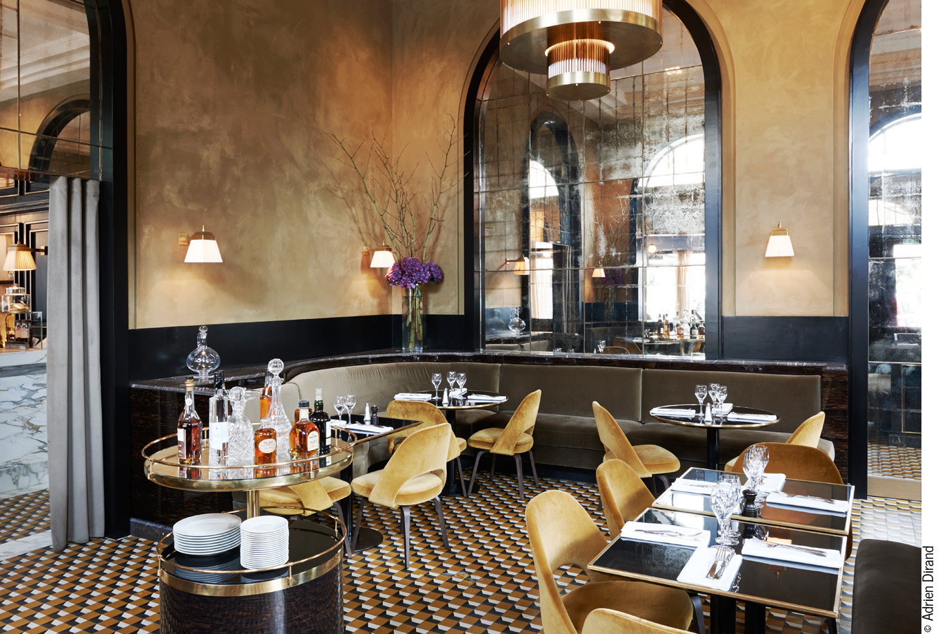 Le Flandrin: a jewel of a restaurant in Paris.