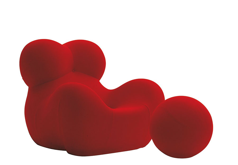These 6 Pieces Of Colorful Furniture Are Absolute Must Haves: UP5 And UP6 Armchairs By Gaetano Pesce