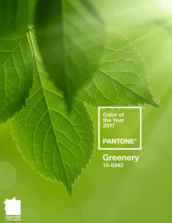 Il 2017 si tinge di Greenery