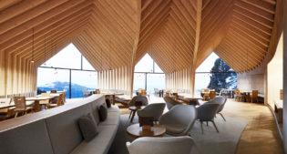 Oberholz Mountain Hut: design nelle Dolomiti italiane
