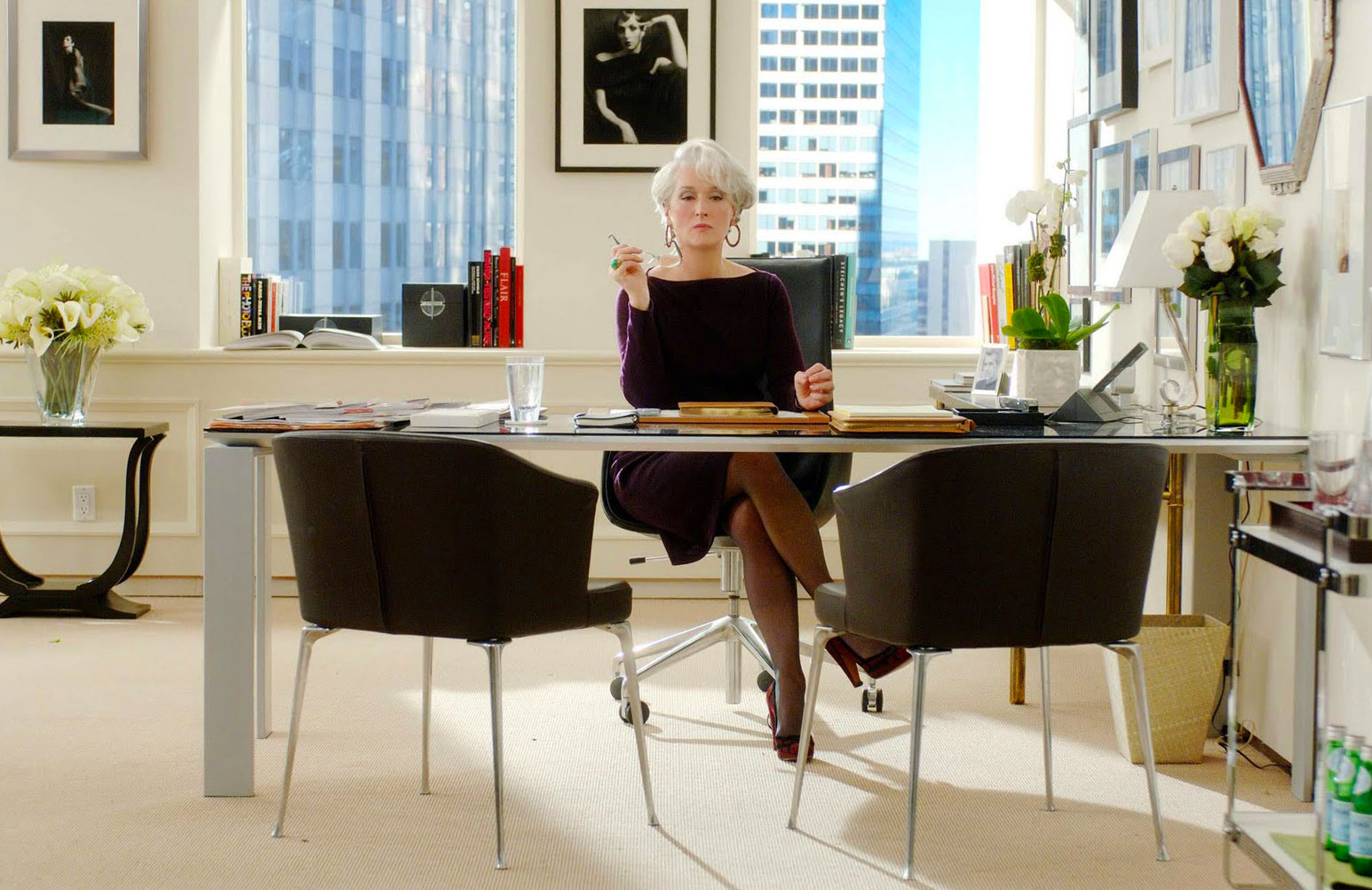 The Devil wears Prada: let's be inspired by Miranda