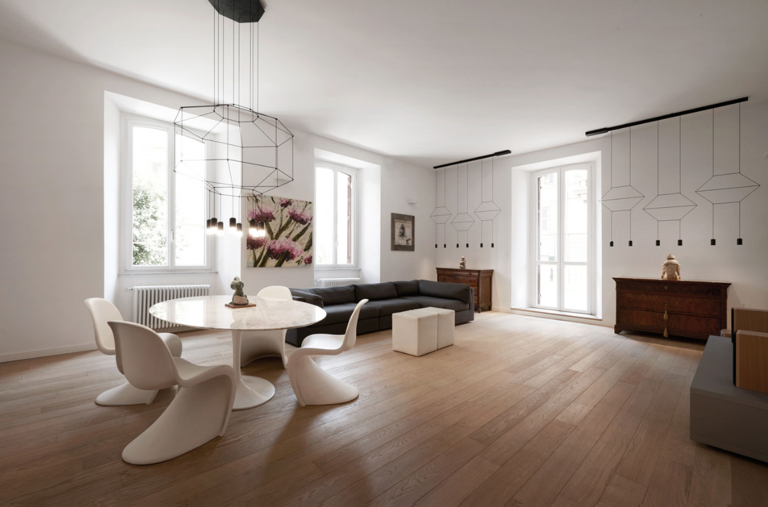 Z Apartment in Rome: When The New and the Old Meet