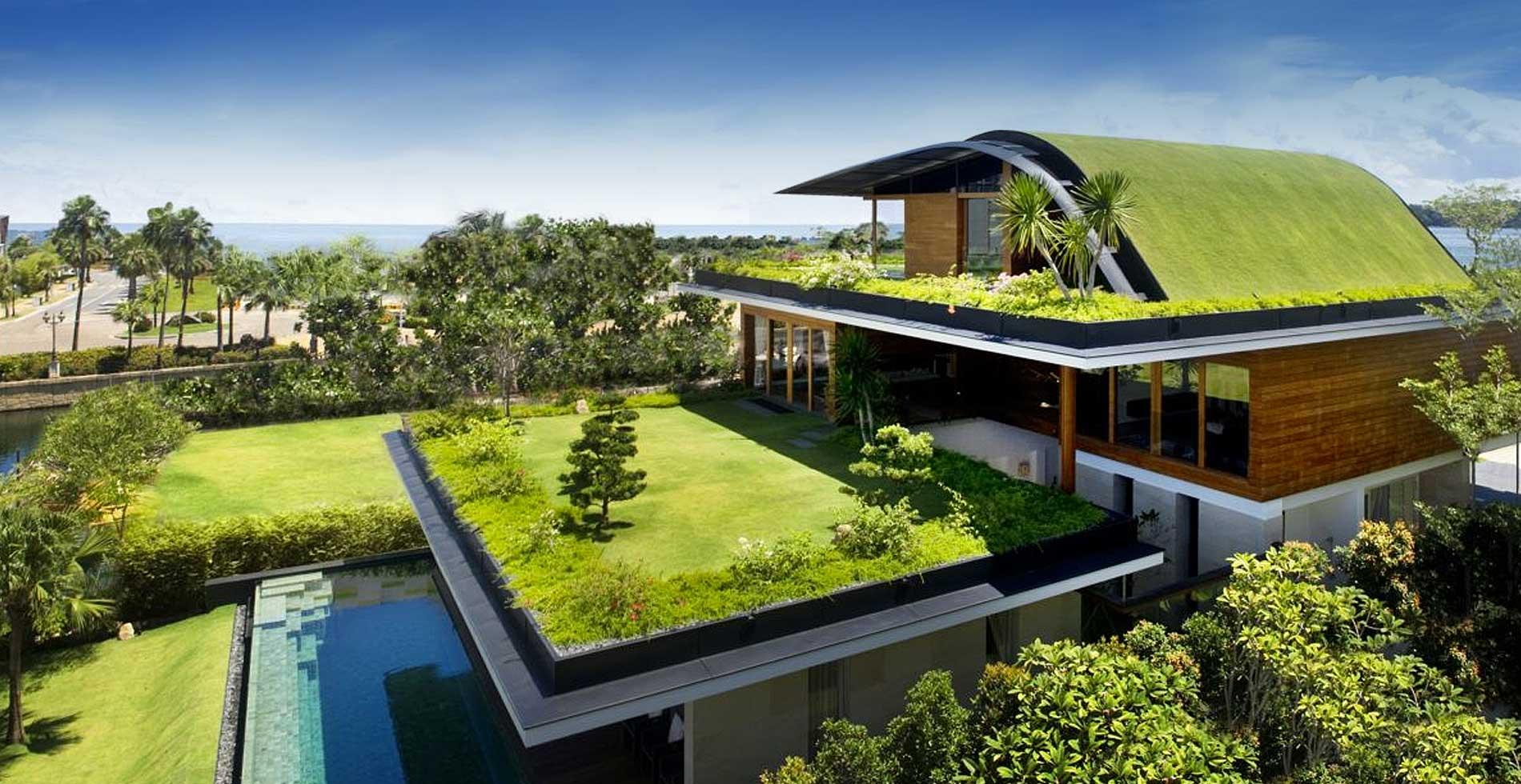 The Green Sky Garden House By Guz Architects Studio
