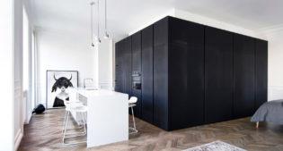 L'esempio perfetto di interior contemporaneo, si trova in questo appartamento di Mosca
