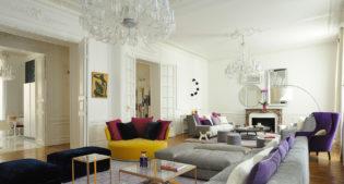 Un appartamento parigino e un'esplosione di colori!