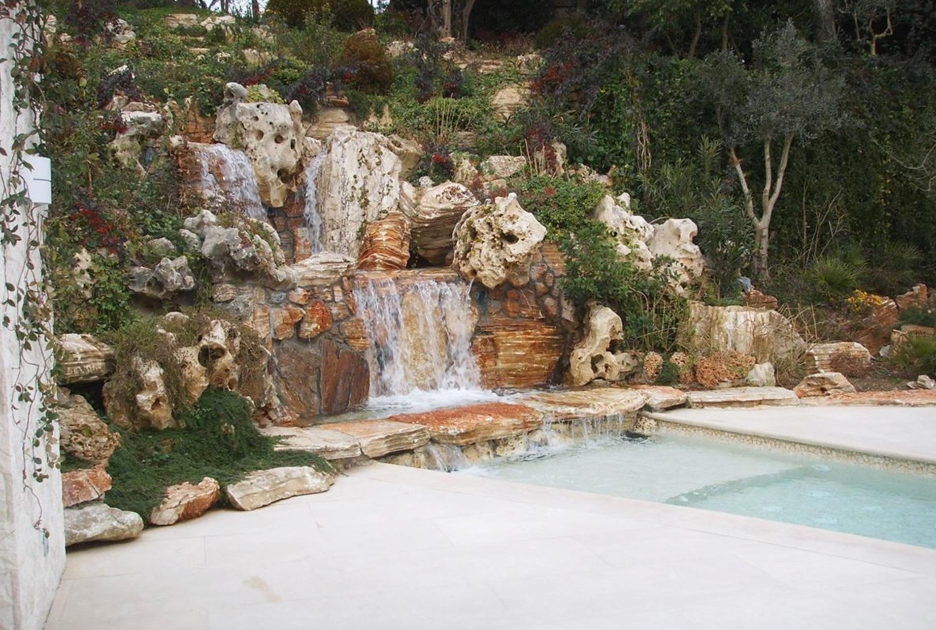 Cascate per giardino modulo per ruscello cascata per - Cascate da giardino ...