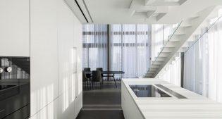 A fabulous penthouse in Tel Aviv, Minimalist Style