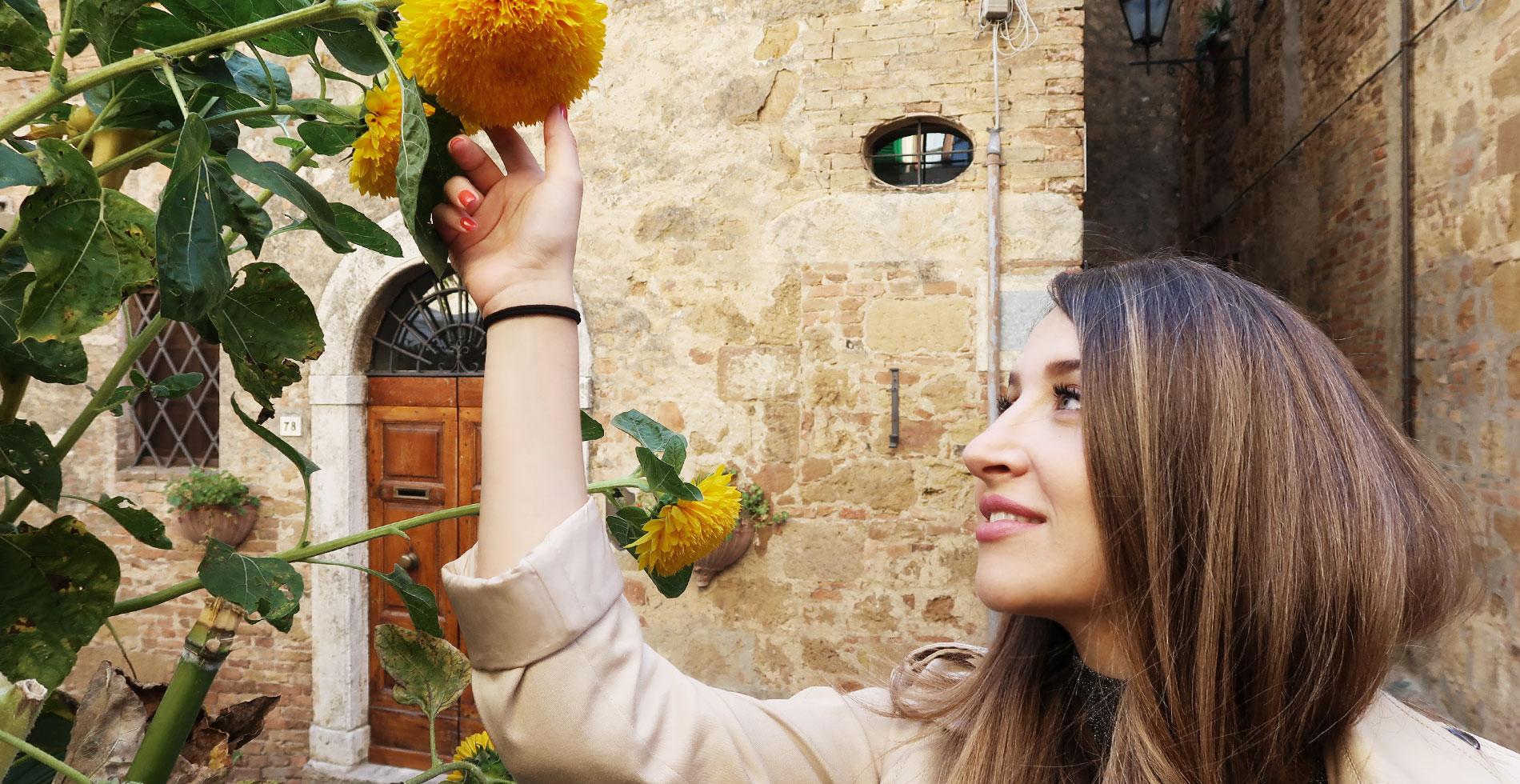 camilla bellini pienza design blogger