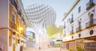 The Metropol Parasol in Seville