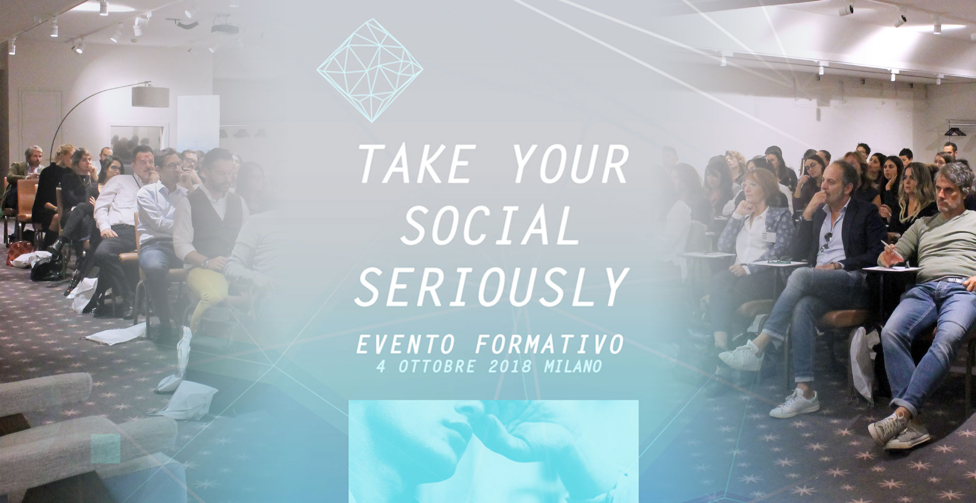 take your social seriously evento