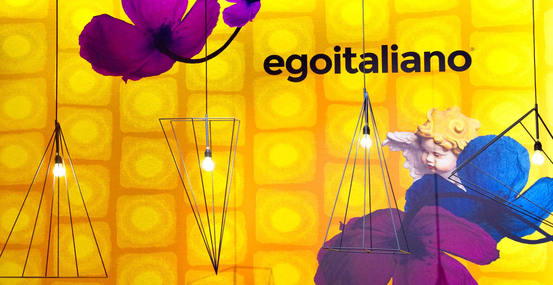 Egoitaliano al Salone del Mobie 2019 ingresso stand