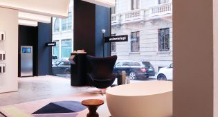 antoniolupi and Milan: story of a bond that is expressed in the Showroom