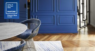 Classic Blue 19-4052: the Pantone of the year between design and art