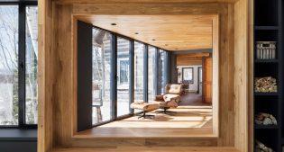 Come deve essere uno chalet di montagna: legno e design