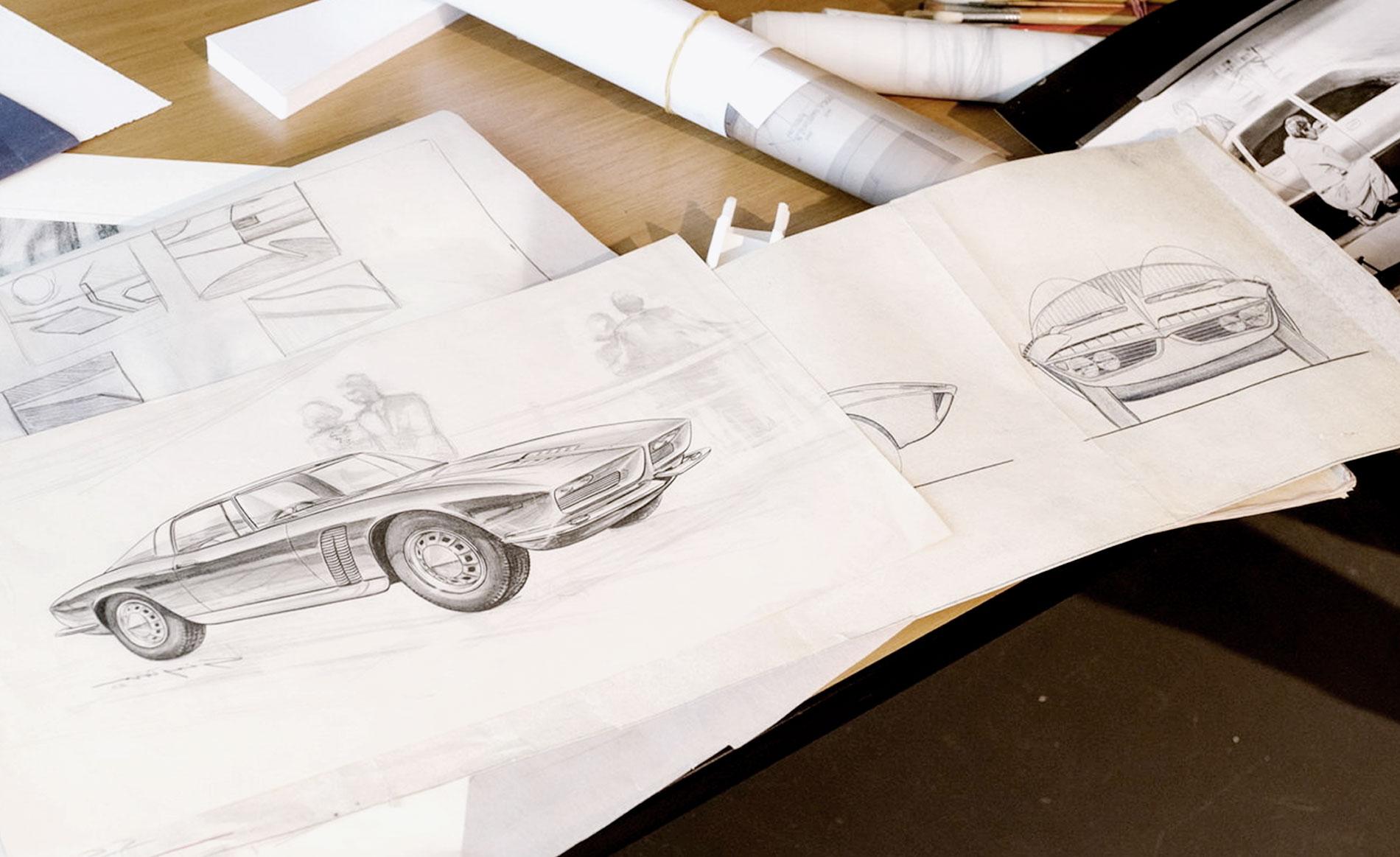 copertinadisegni giugaro camilla bellini automotive design