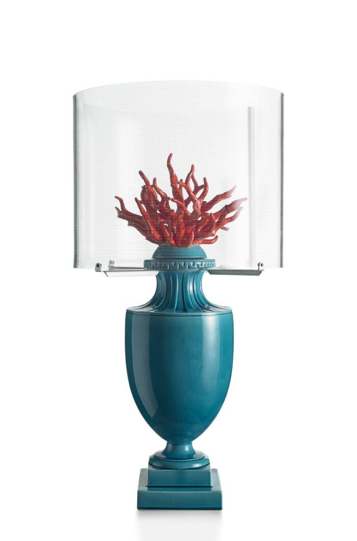 Lampada Coralli turchese