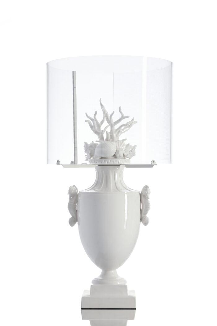 Okeanos lamp, white version