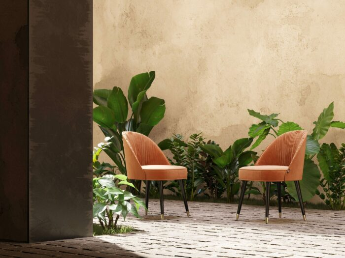 Camille dining chairs Domkapa
