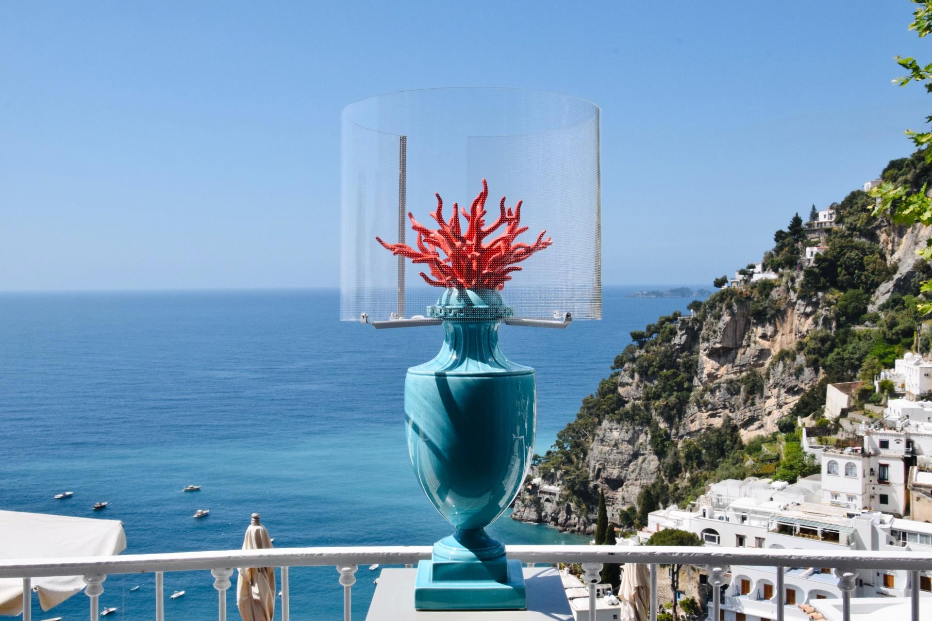 Lampada Coralli color turchese di Les First