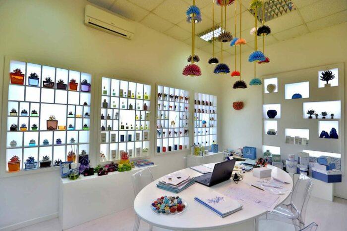 The Italian Ricciocaprese boutique in Capri