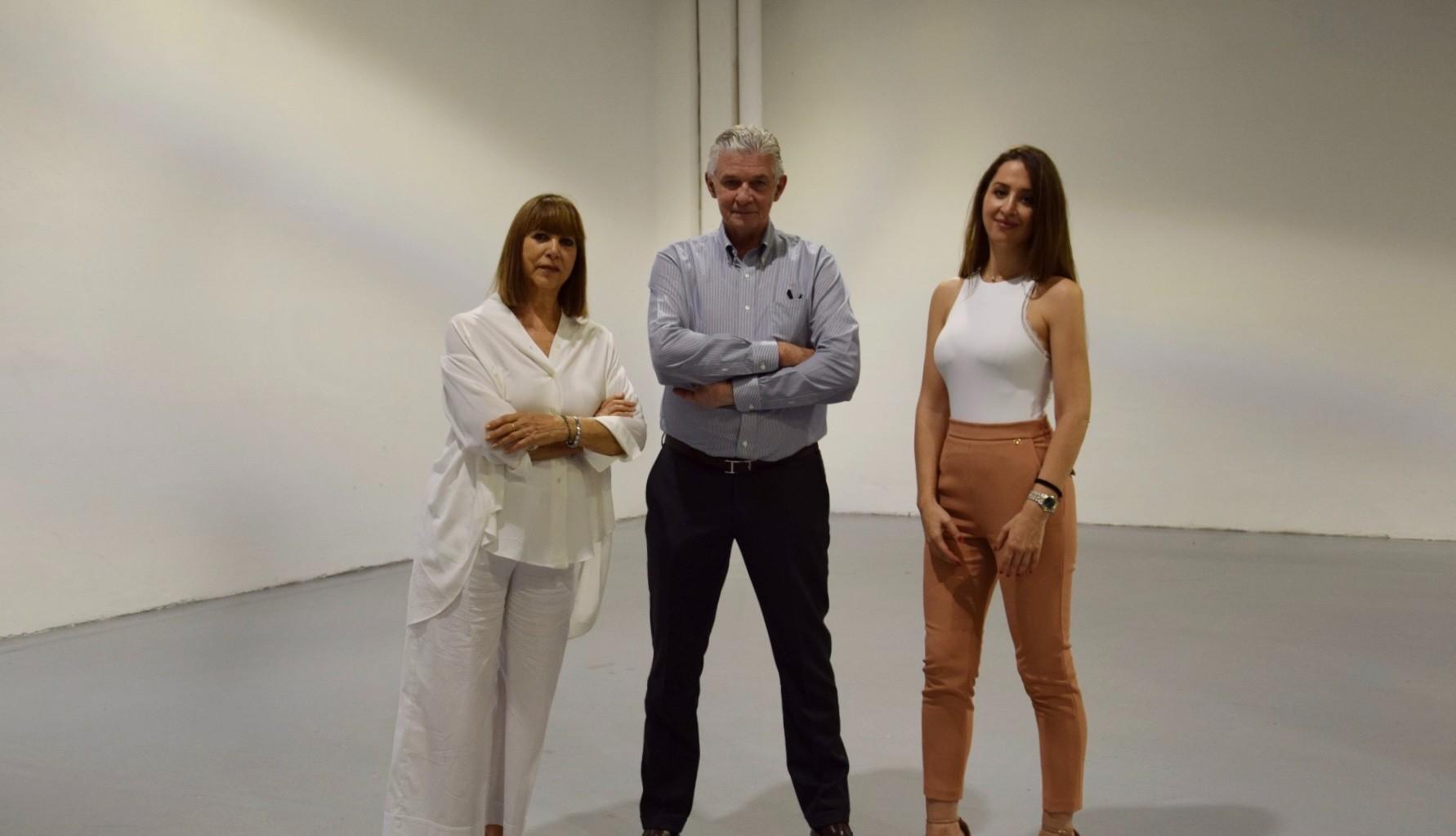 Giulio Cappelllini and Gisella Borioli with Camilla Bellini at Cult&Must