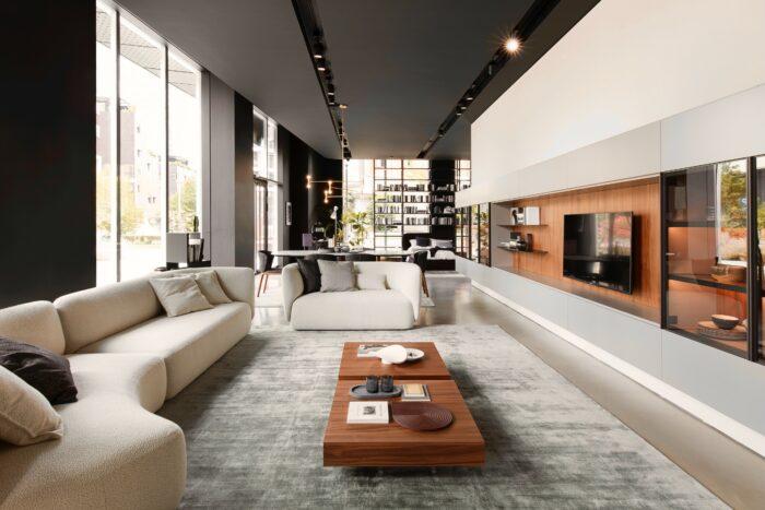 Blossom sofa by Novamobili